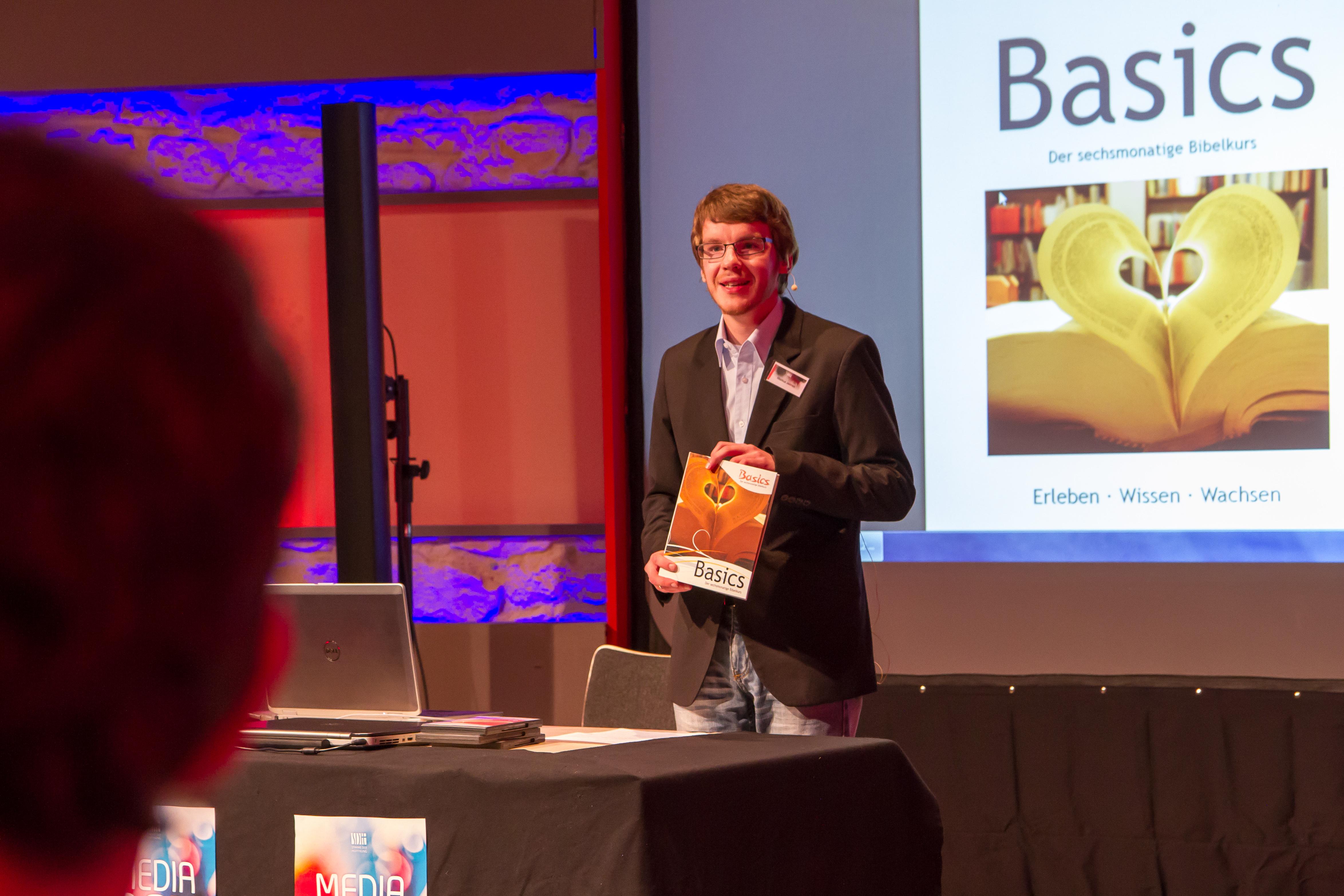 Marcus Jelinek beim 2. MediaDay im Medienzentrum STIME DER HOFFNUNG